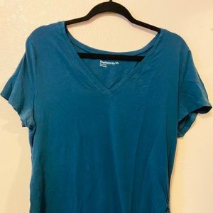 Teal Gap Maternity Top Size XXL